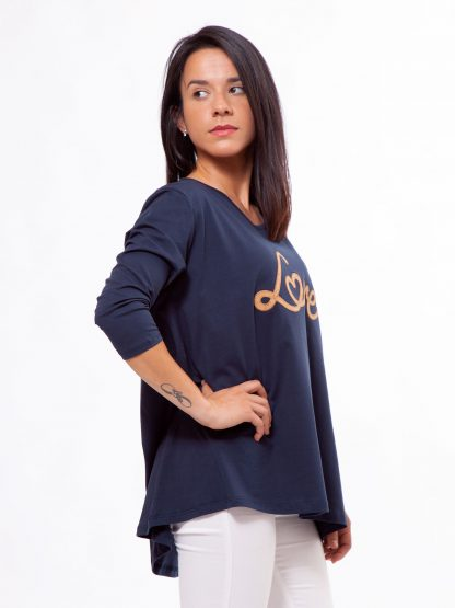 LOVE Top - Comfortable Shirt from Organic Cotton